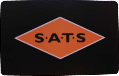 [Medlemskort SATS - framsida]